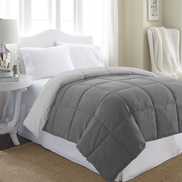All Season Reversible Down Alternative Microfiber Comforter