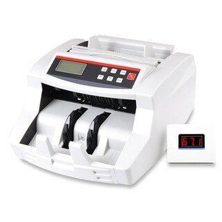 Pyle PRMC700 Wireless Automatic Digital Money Counting Machine with Built-in Rechargeable Battery