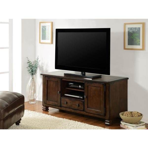 shop ameriwood home summit mountain espresso 55 inch tv stand free shipping today overstock. Black Bedroom Furniture Sets. Home Design Ideas