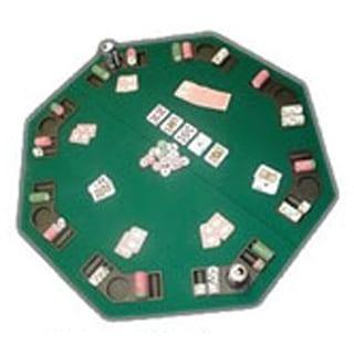 Poker U0026amp; Blackjack High Grade Table Top With Case