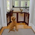 4 Panel Freestanding Tall Pet Gate