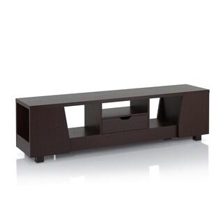Furniture of America Brayden Modern 70-inch Walnut Entertainment Unit