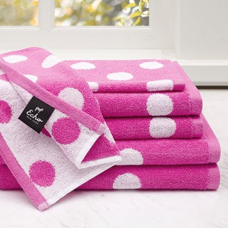 Echo Design Dottie 6-Piece Cotton Jacquard Towel Set--2 Color Options