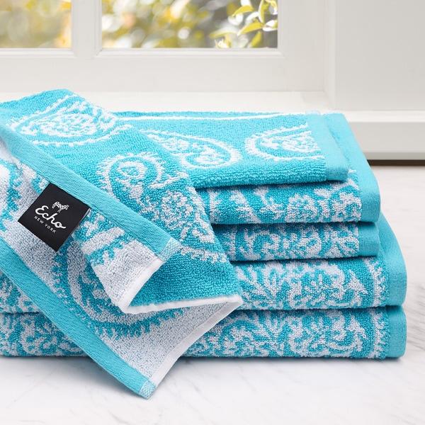 Echo Design™ Madira 6-Piece Cotton Jacquard Towel Set