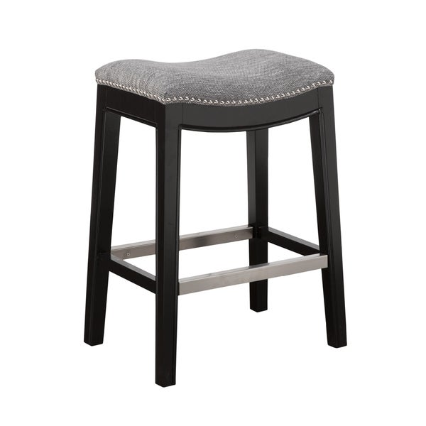Madison Park Nomad Saddle Counter Stool Free Shipping