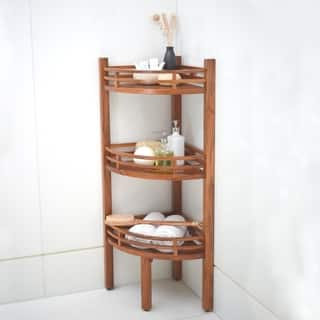 Spa Teak Corner Shelf|https://ak1.ostkcdn.com/images/products/11069470/P18078932.jpg?impolicy=medium