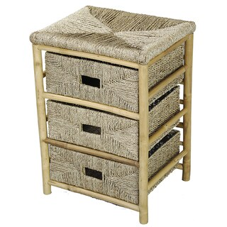 3-drawer Bamboo Cabinet