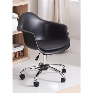 Hodedah Rolling Chair with Seat Cushion