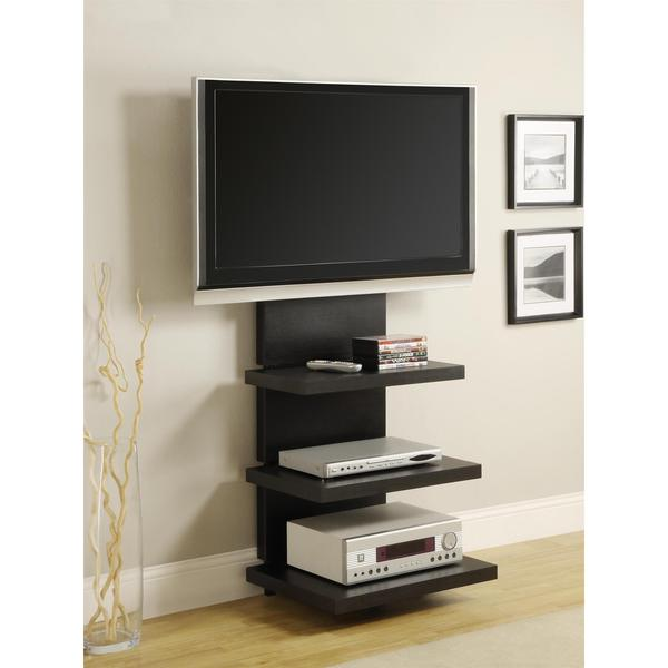 60 corner tv stand with mount innovex inch ikea elevation black