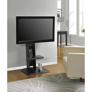 Ameriwood Home Galaxy 50-inch Black Compact Entertainment Center with Mount
