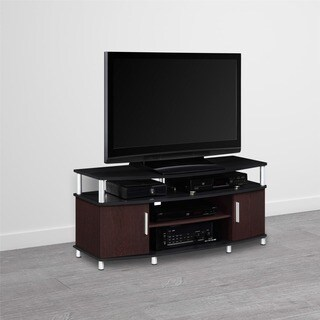 Avenue Greene Ford Cherry/ Black 50-inch TV Stand
