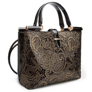 Link to Ann Creek Women's 'Wolls' Metallic Embroidered Bag Similar Items in Shop By Style