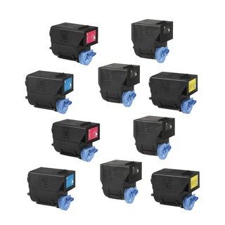 2Set + 2 Bk Compatible 0452B003AA 0452B003AA 0452B003AA 0452B003AA Toner Cartridges For Canon imageRUNNER C2550 ( Pack of 10 )