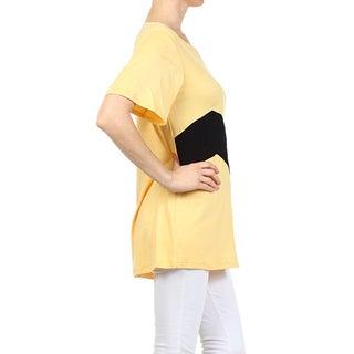 Moa Collection Women's Chevron Stripe Tunic
