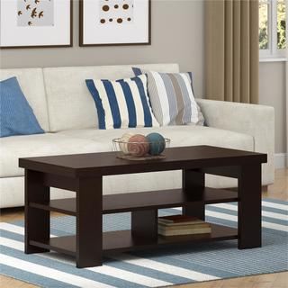 Altra Black Forest Hollow Core Contemporary Coffee Table
