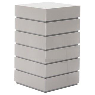 Potenza 6-drawer Cabinet (Option: Beige - White Finish)
