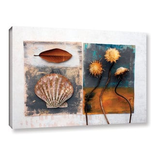 ArtWall Elena Ray 'Conch, Magnolia, Thistle' Gallery-wrapped Canvas