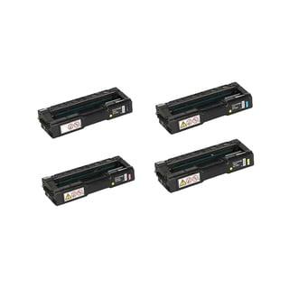 4PK Compatible 406475 406476 406477 406478 Toner Cartridge For Ricoh Aficio SP C231N C231SF C310A ( Pack of 4 )