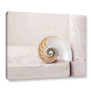 ArtWall Elena Ray 'Nautilus' Gallery-wrapped Canvas