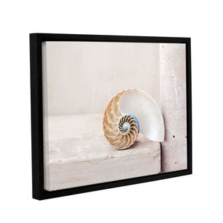 ArtWall Elena Ray 'Nautilus' Gallery-wrapped Floater-framed Canvas