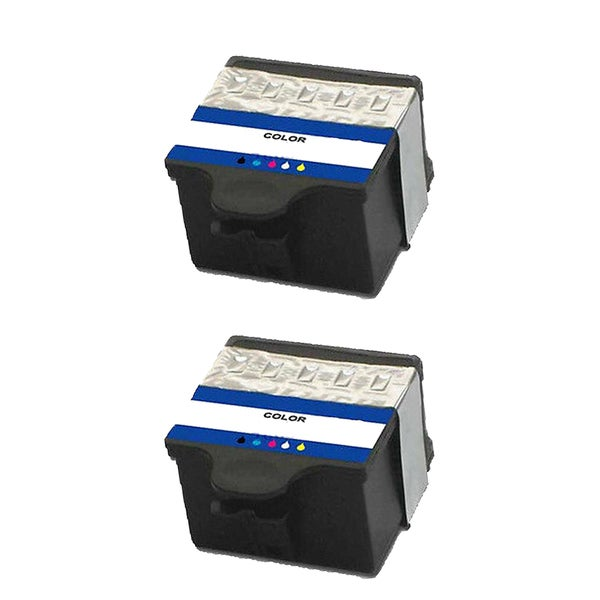 2PK 1810829 #10 Color Compatible Ink Cartridge For Kodak Easyshare 5100  5300 5500 ( Pack of 2 )