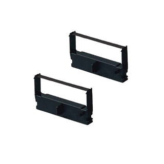 2PK Compatible ERC32 Black Ribbons for Epson Casio CE 2700 Casio CE 4200 ( Pack of 2 )