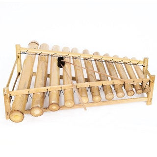 Bamboo Xylophone Angklung with Mallets (Indonesia)