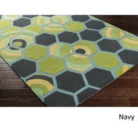 Hand Tufted Thatcham Wool/Cotton Area Rug (5' x 7'6)
