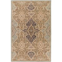 Hand Tufted Stotfold Wool Area Rug - 6' x 9'