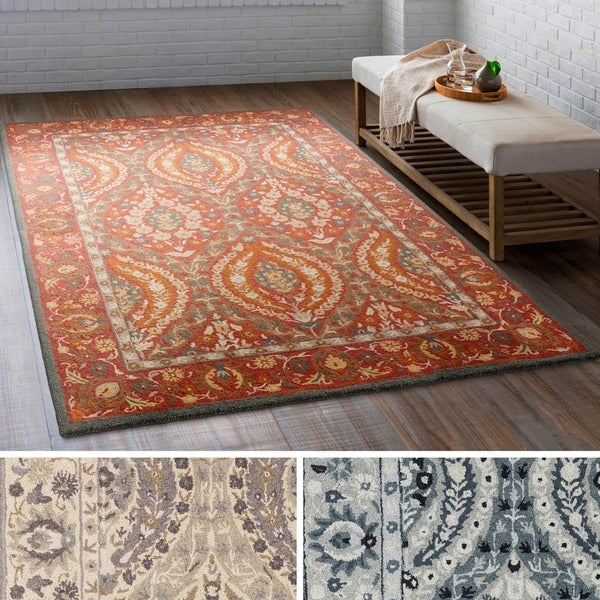 Hand Tufted Rochdale Wool Area Rug 8 X 10 Free