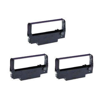 3PK Compatible ERC30 Purple Ribbons for Epson M119B M119D M133A M17JB ( Pack of 3 )