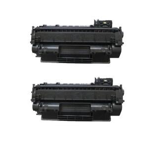 2PK Compatible CE505A Toner Cartridges for HP LaserJet P2035 P2035DN P2055 P2055D P2055DN P2055X (Pack of 2)