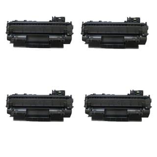 4PK Compatible CE505A Toner Cartridges for HP LaserJet P2035 P2035DN P2055 P2055D P2055DN P2055X (Pack of 4)