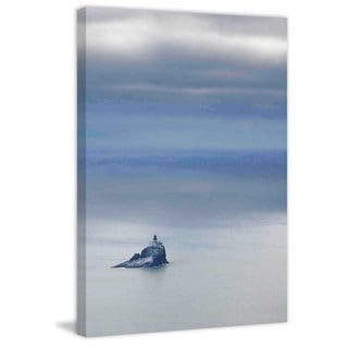 Marmont Hill - Tillamook Rock Lighthouse Painting Print on Canvas