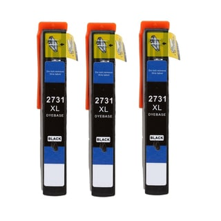 3 Pack Epson T273XL120 Compatible Ink Cartridge for Epson XP800 XP810 XP820 (Pack of 3)