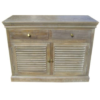 Shutter French Gray Sideboard/ Buffet
