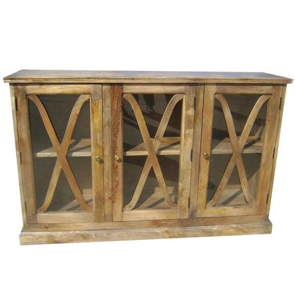 Mango Wood Sideboard ~ Shop stockholm mango wood sideboard buffet free
