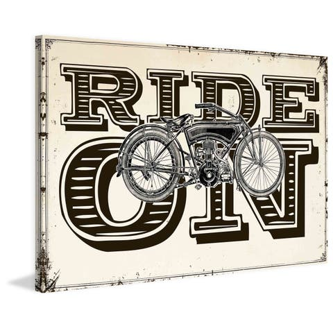 Marmont Hill - Ride On Painting Print on Canvas