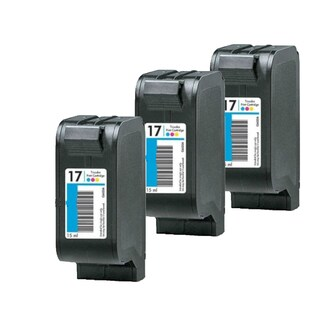 3 Pack HP C6625A C6625D #17 Compatible Ink Cartridge for HP Deskjet 825 840 841 842 843 845 (Pack of 3)