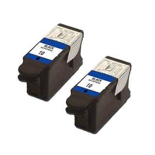 2 Pack Kodak 1215581 #10 Black Compatible Ink Cartridge for Kodak Easyshare 5100 5300 (Pack of 2)