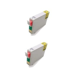2 Pack Compatible T087020 Gloss Optimizer Ink Cartridge for Epson Stylus Photo R1900 (Pack of 2)