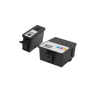 1 Set Kodak 8237216 #10XL Black 8946501 #10 Color Compatible Ink Cartridge for Kodak Hero 6.1 7.1 9.1 (Pack of 2)