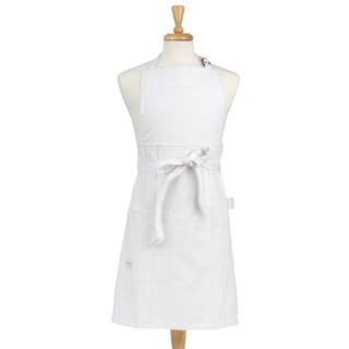 White Denim Adult Butcher Apron