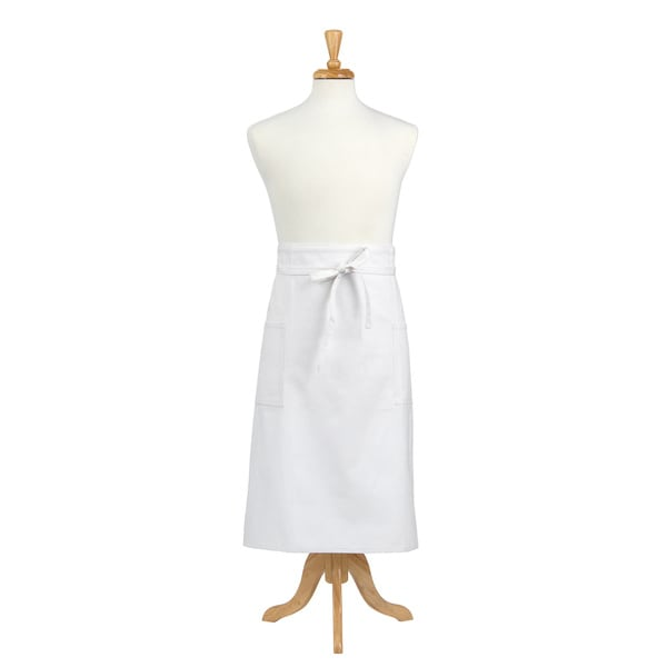White Denim Adult Bistro Apron