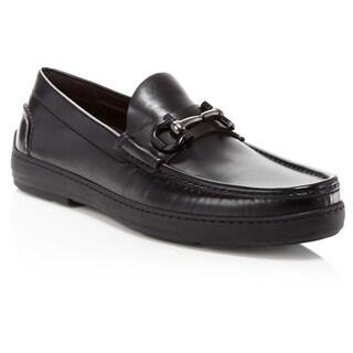 Salvatore Ferragamo Memphis Brown Leather Gancini Loafers