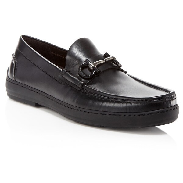 Gancini loafers - Black Salvatore Ferragamo 8lLIS