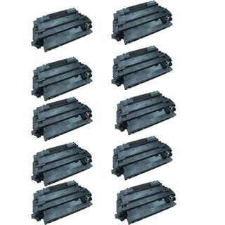 4PK CE255A Compatible Toner Cartridge for HP P3011 P3015 P3015D P3015DN P3015X (Pack of 4)