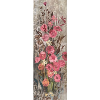 Marmont Hill - Floral Frenzy Pink III Painting Print on Canvas