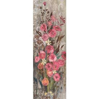 Marmont Hill - Handmade Floral Frenzy Pink III Painting Print on Canvas