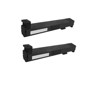 2PK CB390A 825A Compatible Toner Cartridge for HP Color LaserJet CP6015 CP6015N CP6015DN CP6015DE CP6015X (Pack of 2)